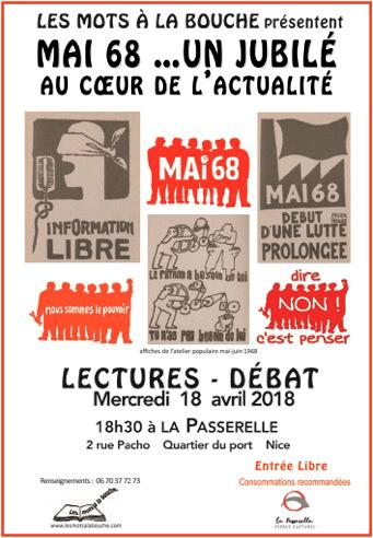 événement des mots à la bouche lecture débats en avril 2018