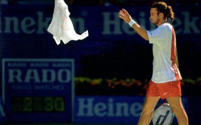 Le tennis vu par Delerm, épisode 3 : serviette !