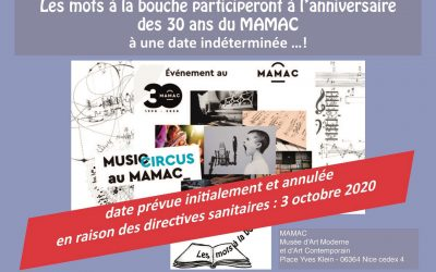 30 ans du Mamac