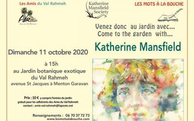 Au jardin avec Katherine Mansfield (1)