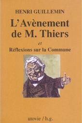 Couverture M. Thiers par Henri Guillemin